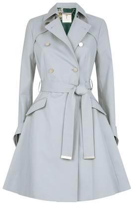 Ted Baker Marrian Knotted Cuffs Trench Coat