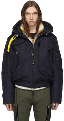Parajumpers Navy Down Masterpiece Gobi Jacket
