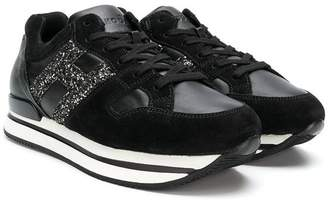 Hogan platform lace-up sneakers