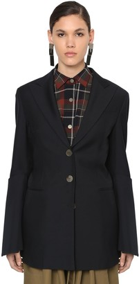 Loewe COOL WOOL BLAZER W/ FLARED SLEEVES