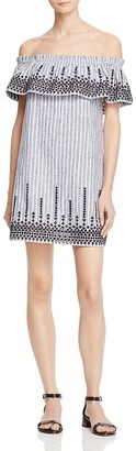 Parker Jeanette Off-The-Shoulder Dress $258 thestylecure.com