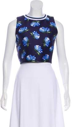 Mother of Pearl Printed Sleeveless Top