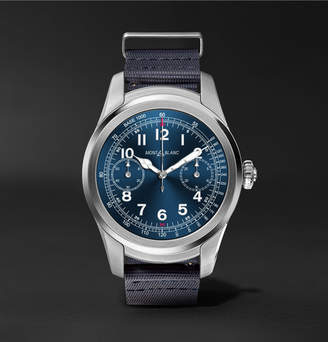 Montblanc Summit 46mm Stainless Steel And Rubber Smart Watch