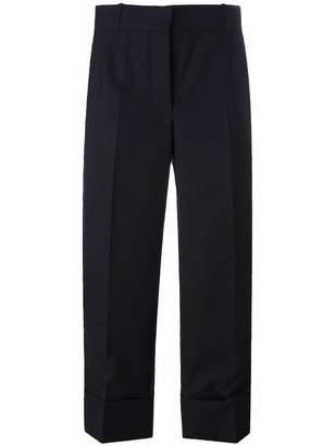 Thom Browne wide leg cropped pants