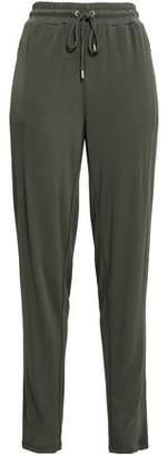 MICHAEL Michael Kors Stretch-Crepe Track Pants