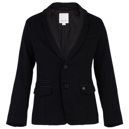 Diesel Black Branded Cotton Blazer