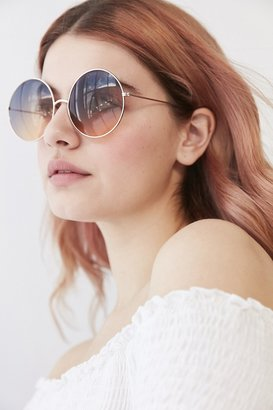 Urban Outfitters Pasadena Gradient Round Sunglasses $18 thestylecure.com