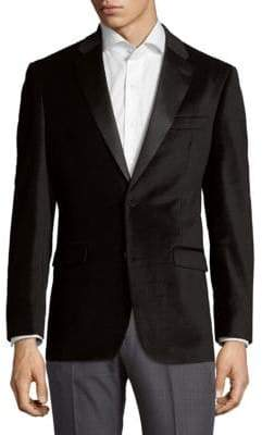 Tommy Hilfiger Modern Fit Velvet Diamond Sportcoat