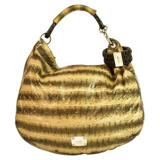 Jimmy Choo Multicolour Exotic Leathers Handbag