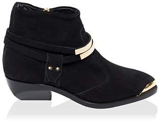 Balmain Women's Point Toe Ankle Boot