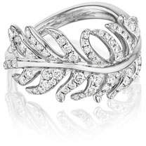 Mimi So The Phoenix Feather Ring with Diamonds, Size 6.25