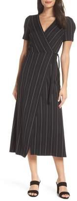 Ali & Jay Take the Town Wrap Midi Dress
