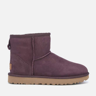 UGG Women's Classic Mini II Sheepskin Boots - Port