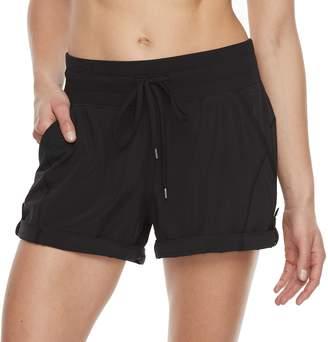 Tek Gear Women's Roll-Tab Woven Shorts