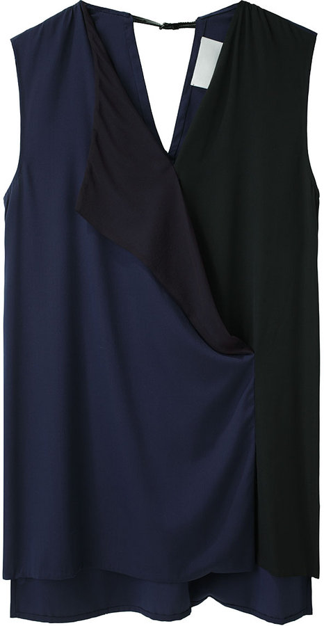 3.1 Phillip Lim / Lapel Sleeveless Blouse