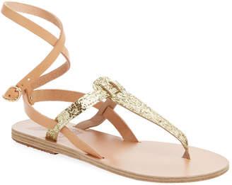Ancient Greek Sandals Estia Ankle-Wrap Thong Sandal