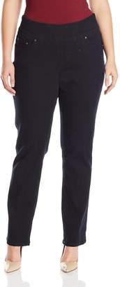 Jag Jeans Women's Plus Size Peri Straight Pull on Jean