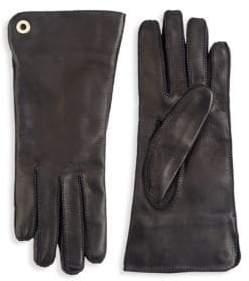 Loro Piana Guanto Jacqueline Leather Gloves