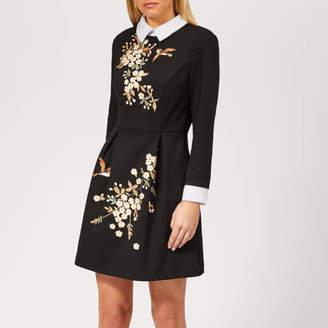 Ted Baker Women's Ellan Graceful Embroidered Dress