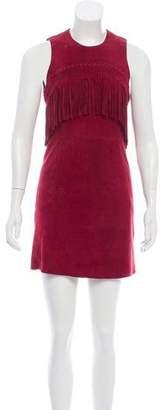 Rebecca Minkoff Suede Mini Dress