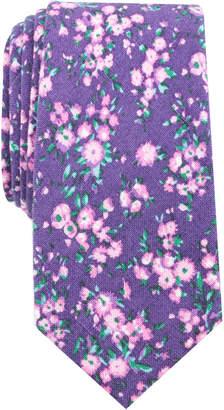 Bar III Men's Medgar Floral Skinny Tie, Created for Macy's