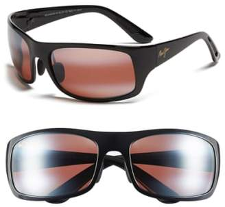 Maui Jim 'Haleakala - PolarizedPlus(R)2' Polarized Wrap Sunglasses