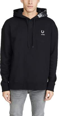 Raf Simons Fred Perry By Fred Perry by  Print Hoody
