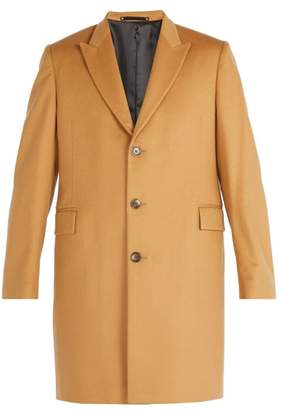 Paul Smith - Single Breasted Wool And Cashmere Overcoat - Mens - Camel