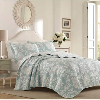 Laura Ashley King Venetia Quilt Set Bedding