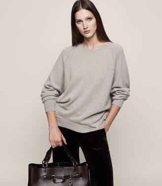 Reiss Albany Oversized Cashmere Jumper