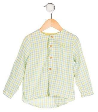 Carrera Pili Boys' Gingham Print Shirt