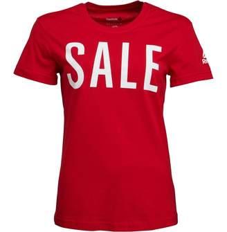 bfc86a2f Reebok Womens Sale T-Shirt Scarlet