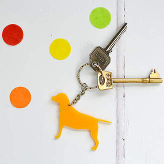 Adventures and Tea Parties Dog Key Ring