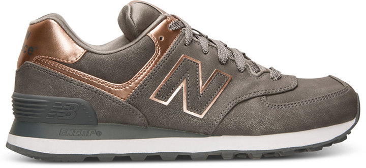 New Balance Women's 574 Precious Metals Casual Sneakers from Finish Line 4