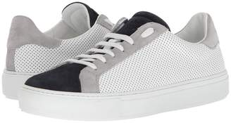 Eleventy Perforated Leather Sneaker Men's Shoes