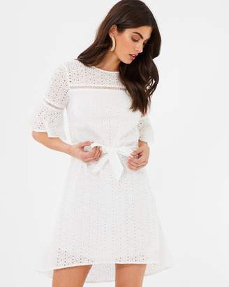 Atmos & Here ICONIC EXCLUSIVE - Anna Broderie Mini Dress