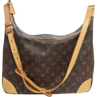 Louis Vuitton Boulogne Brown Leather Handbag