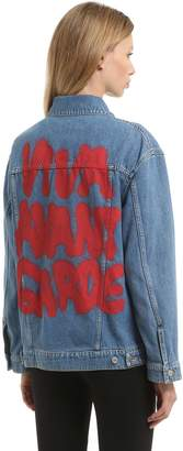 Jeremy Scott 20th Anniversary Oversize Denim Jacket