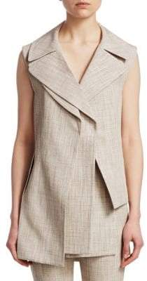 Victoria Beckham Double Layer Gilet