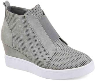 Journee Collection Clara Wedge Sneaker - Women's