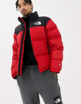 The North Face 1996 Retro Nuptse Jacket in Red