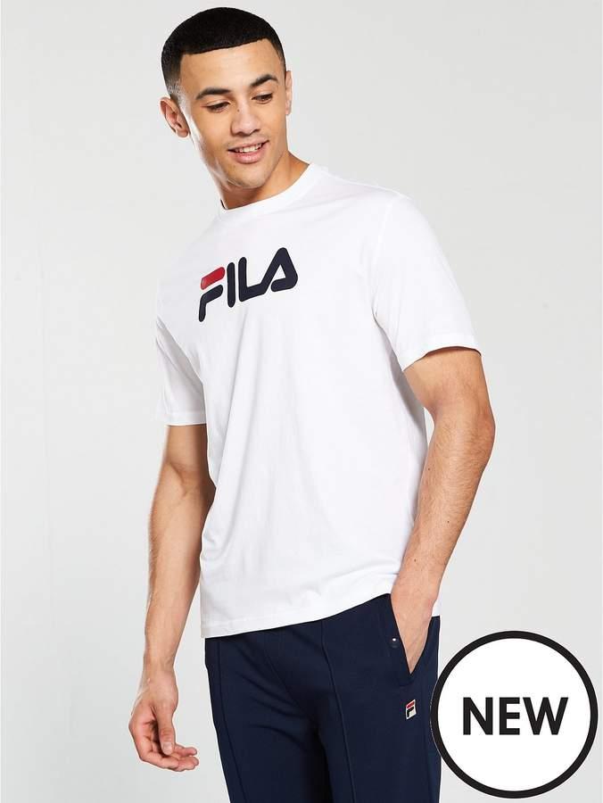 Black Line Eagle Graphic T-Shirt