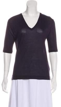 Dries Van Noten V-Neck Short Sleeve Shirt