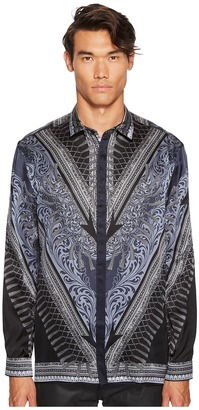 Versace Collection - Silk Tassel Print Button Down Men's Clothing $675 thestylecure.com