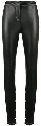Loewe skinny lambskin trousers