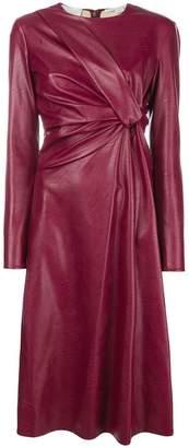 Stella McCartney knot front midi dress