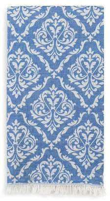 Linum Home Textiles Damask Delight Turkish Pestemal Towel