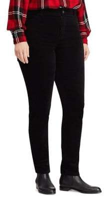 Chaps Plus Four-Way Stretch Corduroy Pants