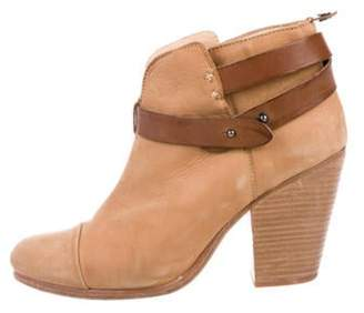 Rag & Bone Suede Round-Toe Ankle Boots Suede Round-Toe Ankle Boots