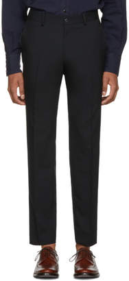 Tiger of Sweden Black Wool Herris Trousers